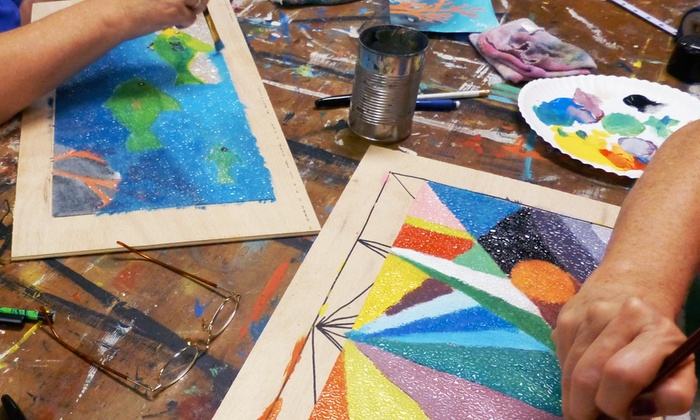 My Handyworks - Saint Charles: Month of Kids' Painting Classes, Painting Class for 2, or Mosaics Class for 2 or 4 (Up to 55% Off)