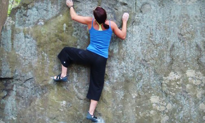 Doylestown Rock Gym - Buckingham: Introductory Rock-Climbing Package with Equipment Rental for Two or Four at Doylestown Rock Gym (Up to 52% Off)