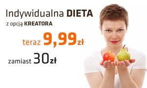 wirtualny-trener.pl: Indywidualna dieta - miesięczny pakiet za 9,99 zł i więcej opcji w wirtualny-trener.pl