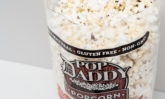 Pop Daddy Popcorn: $10 for Four-Bag Variety Pack of Locally-Sourced Gourmet Popcorn from Pop Daddy Popcorn ($20 Value)