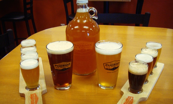 The Phoenix Ale Brewery - Central City: $18 for Beer Tasting Flights and Pints/Snifters for Two, Plus Souvenir Growler at The Phoenix Ale Brewery ($35 Value)