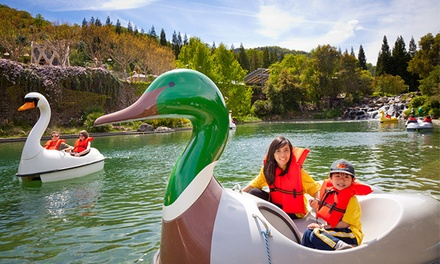 Two, Four, or Ten Groupons, Each Good for Single-Day Admission to Gilroy Gardens (Up to 44%Off)