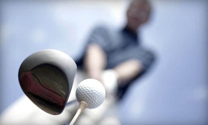 CompuGolf Center - Multiple Locations: $59 for a Private Golf Lesson, Club Fitting, and One-Month Membership from CompuGolf Center ($225 Value)