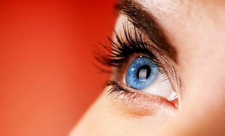 One or Two Eyelash Tint and Perms at Cherise's Salon (Up to 57% Off)