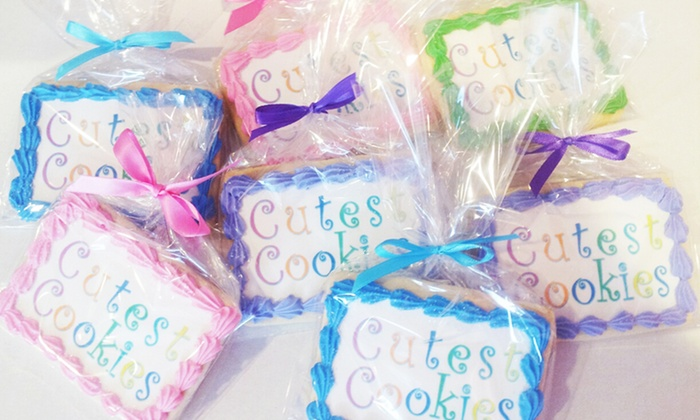 Cutest Cookies - Woodbridge Center Mall: Cookies at Cutest Cookies (Up to $25 Off)