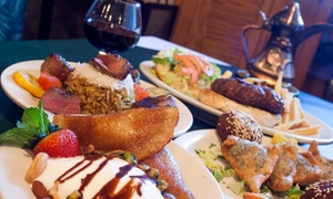 Double Apple: $11 for $20 Worth of Mediterranean Dinner for Two at Double Apple