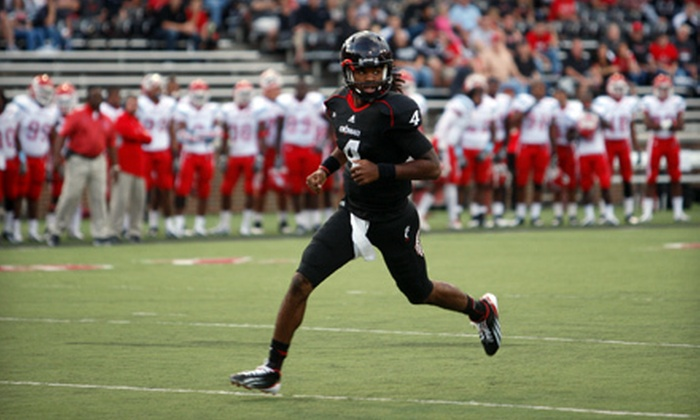 University of Cincinnati Bearcats - Cincinnati: $49 for Cincinnati Bearcats Package with Football Game for Two Plus Basketball Tickets (Up to $204 Value)