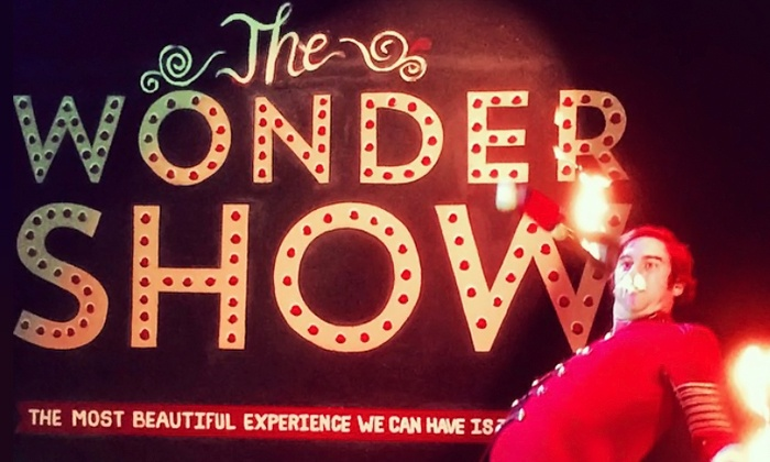 """WONDERSHOW - The Muse: """"WONDERSHOW"""" Magic, Mischief, and Mystery LIVE at The Muse, August 21-23 (Up to 40% Off)"""