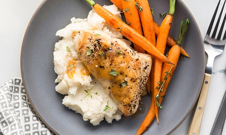 Weekly, Ready-Made Meals from GoReadyMade (Up to 54% Off). Three Options Available.