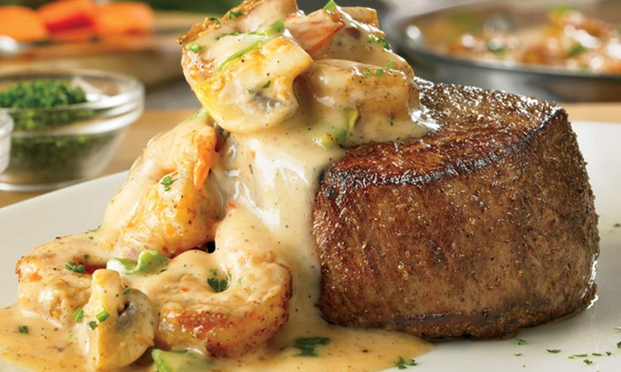 Outback Steakhouse - Niagara Falls - Multiple Locations: Australian-Inspired Steakhouse Meal for Two or Take-Out at Outback Steakhouse (Up to 50% Off)