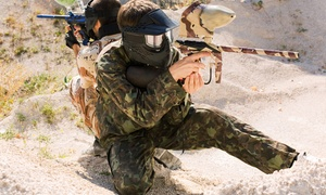 XZone: All-Day Paintball Package for Two, Four, or Eight, or a SplatMaster Party for Up to 10 at XZone (Up to 67% Off)
