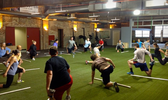 Fit Farm - Walnut Hill: CrossFit Classes, Six-Week Fitness Challenge, or Personal Training at Fit Farm (Up to 69% Off). Four Options Available.