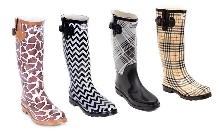 Women's Rubber Rain Boots | Groupon Goods