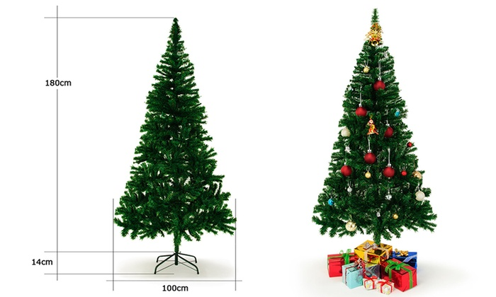 weihnachtsbaum mit st nder groupon goods. Black Bedroom Furniture Sets. Home Design Ideas