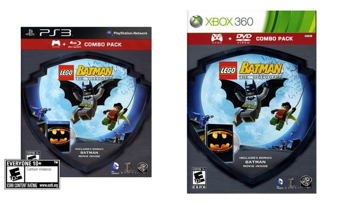 LEGO Batman Game Plus Movie   Groupon Goods