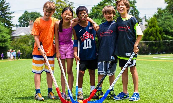Headfirst Summer Camps - Jamaica Hills - Pond: Multi- Sport Day Camp at Headfirst Summer Camps (45% Off)