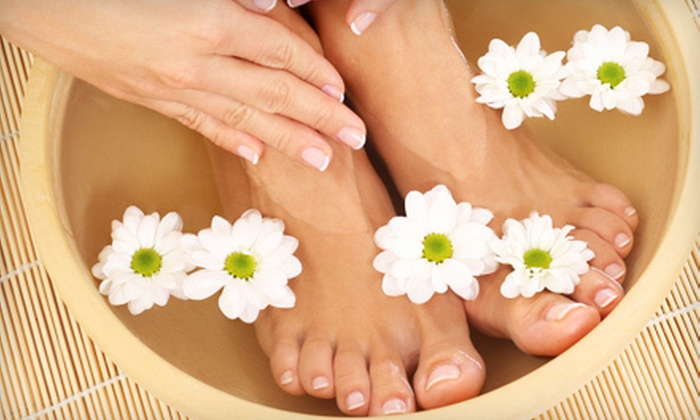 Stephanie World Class Manicure and Pedicure Services - Lower East Side: Mani-Pedi at Stephanie World Class Manicure and Pedicure Services (Up to 59% Off). Two Options Available.