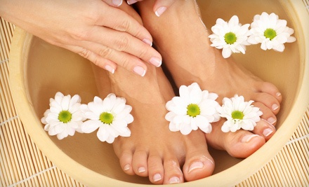 Regular Manicure and Pedicure (a $70 value) - Stephanie World Class Manicure and Pedicure Services in Milwaukee