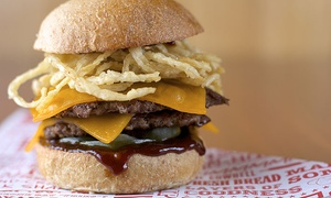 Mooyah Burgers, Fries & Shakes: Up to AED 100 Toward The Menu at Mooyah Burger, Choice of Location (Up to 51% Off)