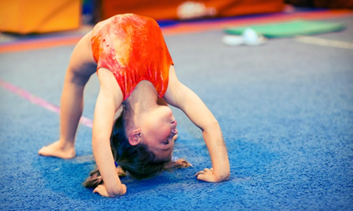 Apex Cheer - Apex Cheer & Athletics: One or Two Months of Tumble Tots Classes or a 90-Minute Birthday Party for Up to 15 Kids at Apex Cheer (Up to 67% Off)