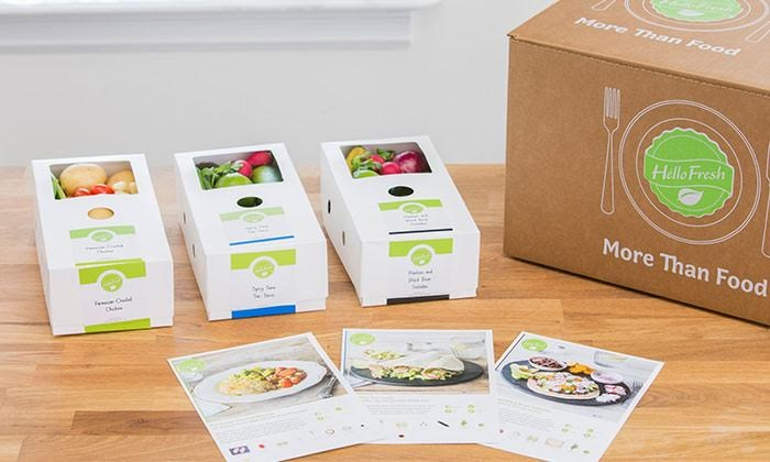 HelloFresh: One or Two Weeks of Delivery of Subscription Cook-at-Home Meals for Two or Four from HelloFresh (Up to 57% Off)
