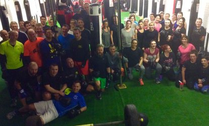image for Up to 10 Boot Camp Sessions at Hurtlocker Gym (Up to 70% Off)