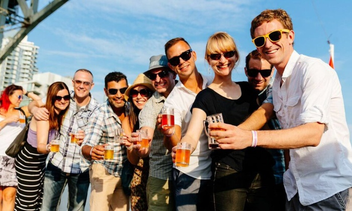 Vancouver Craft Brew Cruise - Downtown Vancouver: $30 for Craft-Beer Cruise on August 23 at Noon or 5 p.m. from Vancouver Craft Brew Cruise ($50 Value)
