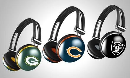 iHip NFL The Noise Rugged Headphones with Inline Microphone