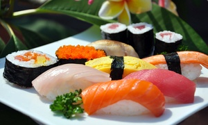 Melia Hotel Dubai: All-You-Can-Eat Sushi with a Soft Drink or House Beverage at Meliá Hotel Dubai (Up to 53% Off)