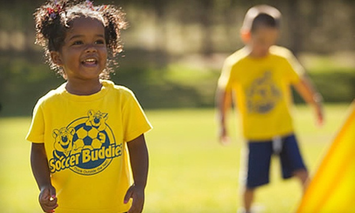 Soccer Buddies - Multiple Locations: $70 for a Five-Day Spring-Break Soccer Camp for One Child at Soccer Buddies ($150 Value)