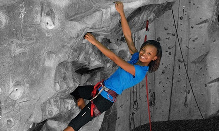 Introductory Rock-Climbing Class for One or Novice Climb Package for Two at Atlanta Rocks! (Up to 54% Off)