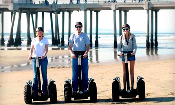 GW Tours - Downtown Huntington Beach: $35 for a 90-Minute Beachcomber Segway Tour and Photo CD at GW Tours ($80 Value)