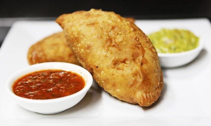 The V-Spot - Park Slope: Vegan Empanada Meal for Two or Four, or 6 or 12 Empanadas for Pickup at The V-Spot (Up to 50% Off)