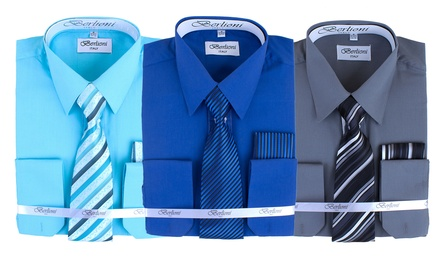 Berlioni Dress Shirt and Tie Set