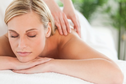 Swedish or Deep-Tissue Massage at Simple Healing Touch Massage (Up to 51% Off). Three Options Available.