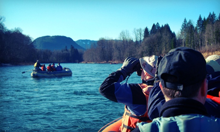 Pacific NW Float Trips - Concrete: Skagit River Tour with Wine Tasting for Two or Four from Pacific NW Float Trips (Half Off)