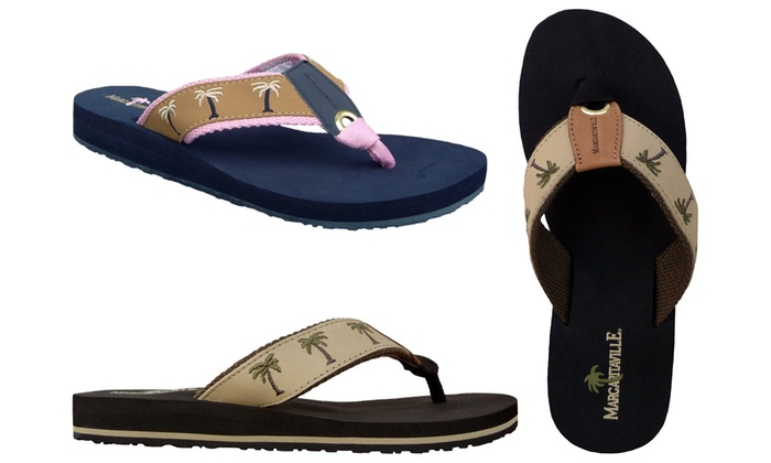 Margaritaville Women S Breezy Cushioned Thong Sandal Groupon