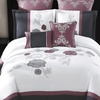 Embroidered Floral Comforter Sets (8-Piece)