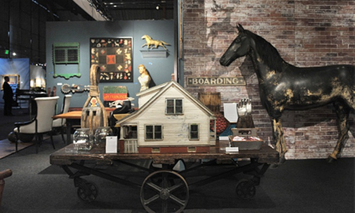 Los Angeles Antiques, Art + Design Show - Culver City: General Admission for Two or Four to Los Angeles Antiques, Art + Design Show (Up to 56% Off)
