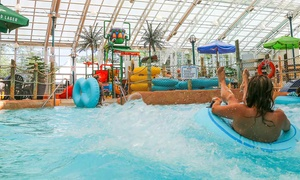 Waves Indoor Waterpark at Americana Resort: Waves Indoor Waterpark Visit for One, Two, or Four at Americana Resort (Up to 59% Off)