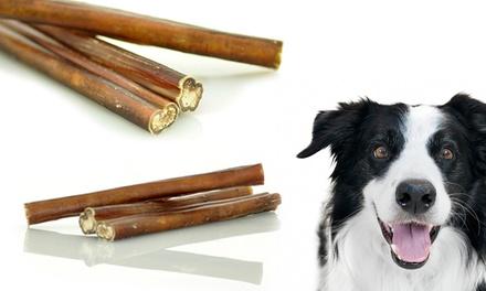 5 bully sticks treats 30 pack groupon goods. Black Bedroom Furniture Sets. Home Design Ideas