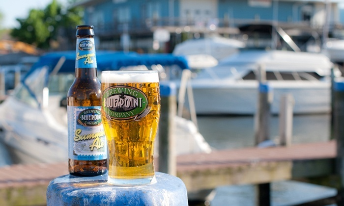 Blue Point Brewing Company - Asbury Park: $10 for 2 Entries in Buoy Cruise Scavenger Hunt from Blue Point Brewing Company on August 29 ($20 Value)