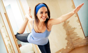 MY BodYoga: Eight Yoga Classes or One Month of Unlimited Yoga Classes at MY BodYoga (59% Off)