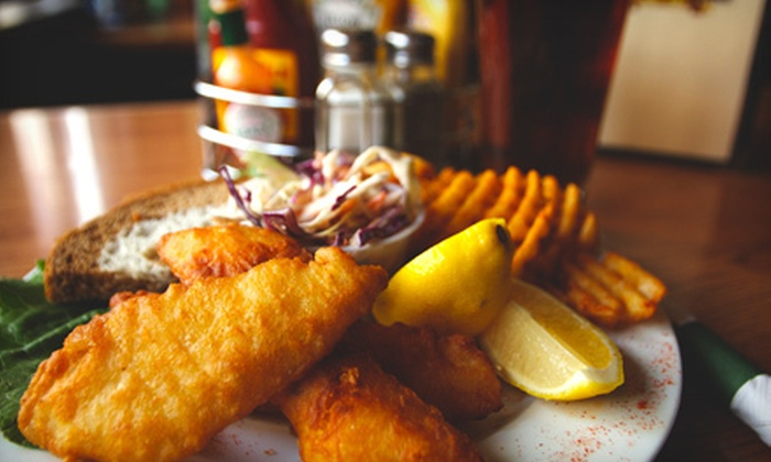 McGillycuddy's - Juneau Town: Fish 'n' Chips for Two or Four or a Four-Hour Party-Room Rental for Up to 150 People at McGillycuddy's (Up to 75% Off)