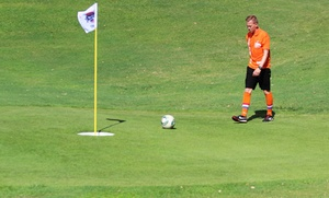 Peoria Pines Golf and Restaurant: $23 for a FootGolf Package for Two at Peoria Pines Golf and Restaurant ($42 Value)