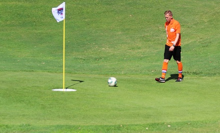 $23 for a FootGolf Package for Two at Peoria Pines Golf and Restaurant ($42 Value)