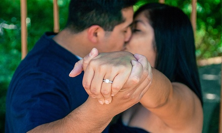$189 for an On-Location Engagement Photo Shoot from Basaldua Photography ($400 Value)