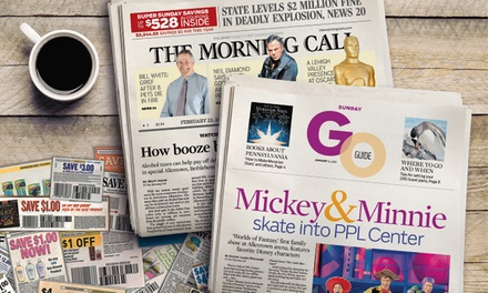 $10 for One-Year Saturday and Sunday Newspaper Subscription to The Morning Call ($234 Value)