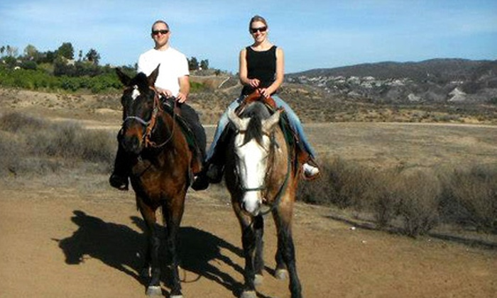 Green Acres Ranch - Temecula: 75-Minute Guided Horseback Trail Ride for Two or Four at Green Acres Ranch (54% Off)