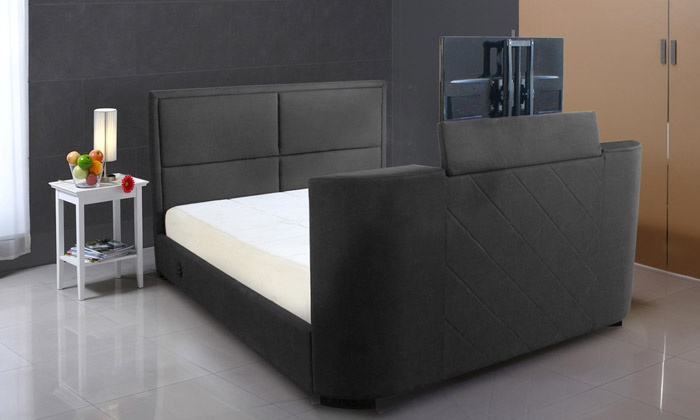 lit tv palace groupon shopping. Black Bedroom Furniture Sets. Home Design Ideas